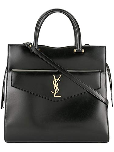 [(サンローランパリ) SAINT LAURENT] [SAINT LAURENT PARIS Large Uptown Tote Bag スーツケース] (並行輸...