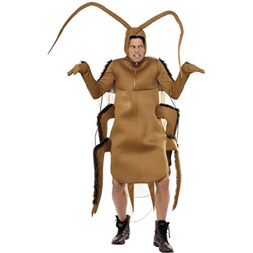 NET TOYS Déguisement cafard Marron déguisement de cafard déguisement d'insecte déguisement Insecte déguisement d'animal Carnaval de Rue