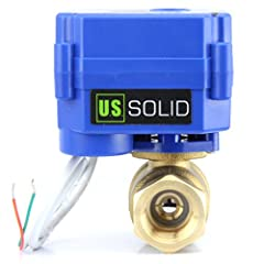 """SAFE AND RELIABLE- Made of durable brass, this valve is safe and reliable; The estimated life expectancy of 80,000 to 100,000 cycles means it is built to last NPT THREADING-½"""" quality brass thread, manufactured and measured according to National Pipe..."""
