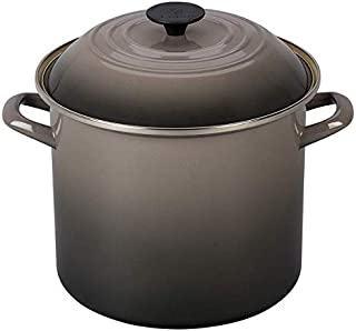 Le Creuset N5100-247F Stockpot, 10 qt, Oyster