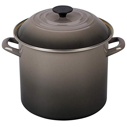 Le Creuset Stockpot, 10 qt, Oyster