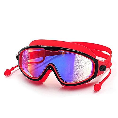 Aiong Gafas de Buceo, Gafas de natación Impermeables para Hombres, Mujeres, Traje de baño antiniebla, natación, Buceo Ajustable