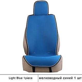 Cubierta de Asiento Hueco hacia Fuera cojín de Asiento Auto Universal Asiento de Coche acogedora Fresco Permeable al Aire Capa de Proteger el Interior del automóvil (Color : Light Blue)