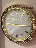 Salón Rolex Reloj De Pared Daytona Oro Rosa