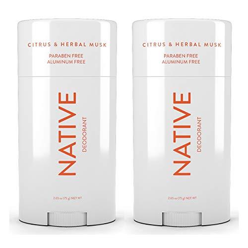 Native Deodorant Citrus & Herbal 2.65oz (2 pack)