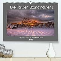 Die Farben Skandinaviens (Premium, hochwertiger DIN A2 Wandkalender 2022, Kunstdruck in Hochglanz): Eindrucksvolle Lichtstimmungen Skandinaviens (Monatskalender, 14 Seiten )