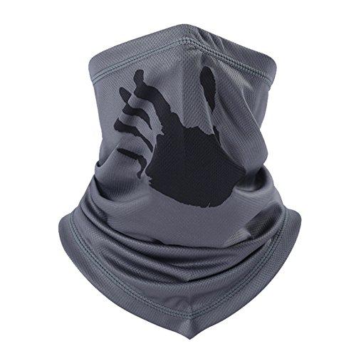 Cuello nariz Unisex máscara cálido Motociclismo couvre-cou invierno antiviento bufanda/pañuelo tubo verano aire anti-UV transpirable Balaclava deporte tirador para bicicleta esquí pesca senderismo
