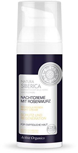 Natura Siberica Nachtcreme mit Rosenwurz, 1er Pack (1 x 50 ml)