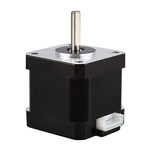 Manyao 17HS4401S Speed Stable 4-Lead 17 Stepper Motor 42 Motor 42BYGH for CNC XYZ 3D Printer Accessories