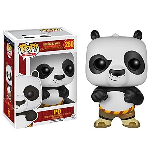 SDFH Pop Vinilo Figuras De Anime Kung Fu Panda Dolls # 250 Abao 10Cm Kawaii Q Versión Muñeca Figura De Acción Modelo De Juguete En Caja Decoración De La Habitación Regalos para