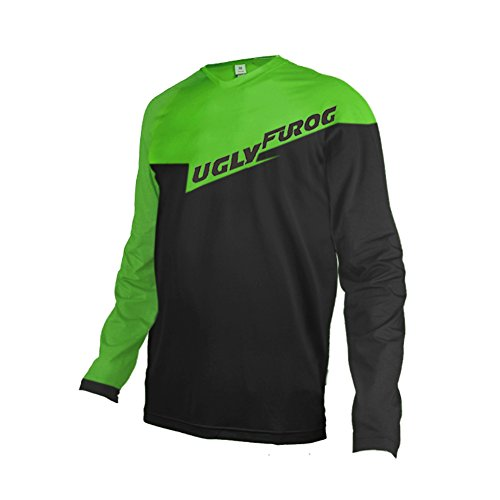 Uglyfrog ESHSJF03 2018-2019 Cycling MTB Jersey Mountain Bike Downhill Shirt De Descenso Bicicleta De Montaña Maillots Deportes y Aire Libre