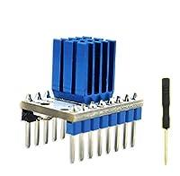 Mustwell 1PC TMC2100 V1.3 Stepstick Stepper Motor Driver Module + Heat Sink for 3D printing Motherboard Ultra Silent MKS TMC2100