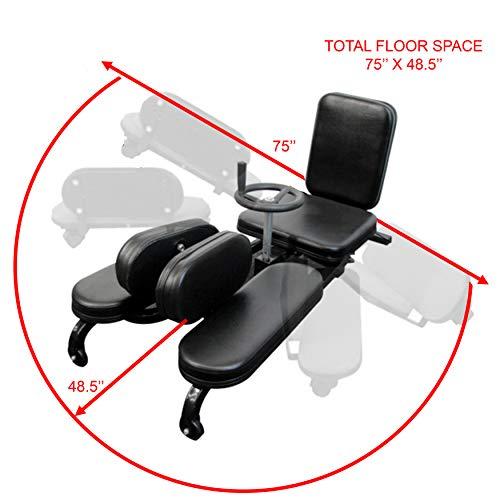 Valor Fitness CA-27 Leg Stretch Machine