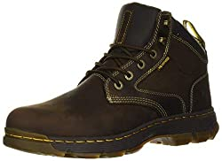 cheap Men's Construction Boots Dr. Martens Holford, Gaucho + Dark Brown Compound Wp + Very Sturdy Nylon…