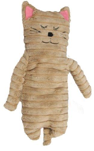 Inware 8735 - Wärmetier Katze, beige, 24 cm, Füllung herausnehmbar