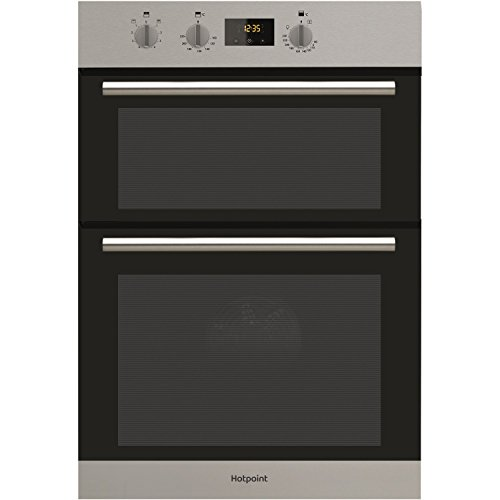 Hotpoint DD2540IX Built-In Double Oven Electric Fan A Energy Inox