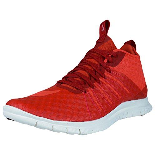 Nike Herren Free Hypervenom 2 FS Fußballschuhe, Rot/Weiß (Gym Red/Lt Crimson-Ivory), 45 EU
