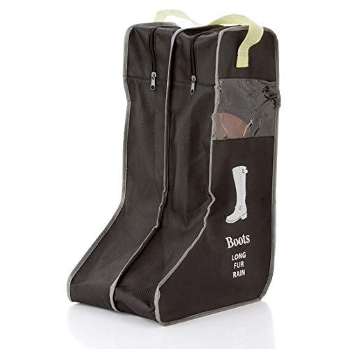 Bolsa portátil para botas de equitación antipolvo, para viajes, botas largas, hasta la rodilla, organizador de zapatos (para botas largas)