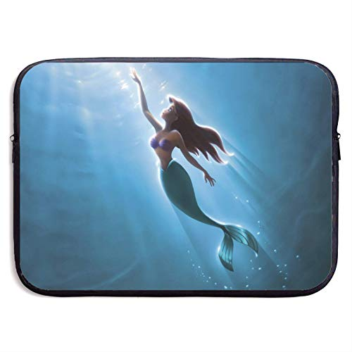 Little M_ermaid A-riel Laptop Sleeve Bag Tablet Fashion Briefcase Ultra Portable Protective Cover Notebook Computer Sleeve Case 15 inch LAP-139