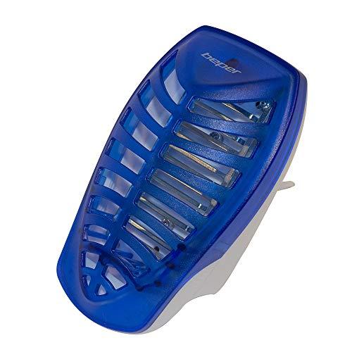 BEPER VE.800 Zanzariera Elettrica A LED, Blue, 14.00X12X23 Cm