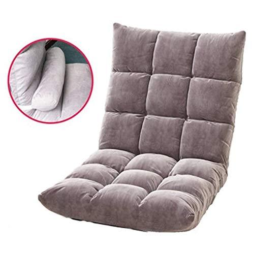 ZXNRTU Relájese cómodamente Seguro Tatami Silla Baja - Acolchado PS4 y NS Gaming Chair - cómodo Espalda - Rocker - Juegos Meditar Butaca de Juego
