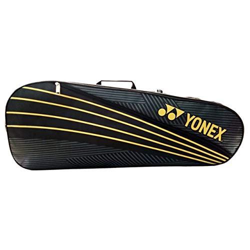 Yonex SUNR 1835 Synthetic Badminton Kitbag (Bla/Lime) Cary 4 Racquet