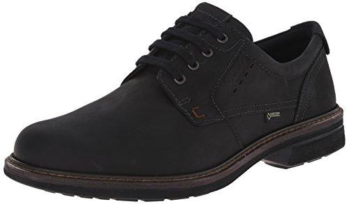 ECCO Men's Turn GTX Plain Toe Oxford, Black, 44 EU/10-10.5 M US