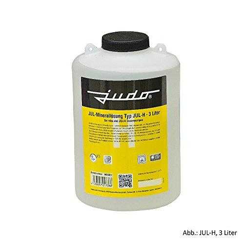 Judo Minerallösung JUL-H für Härtegrad 3, gelb, 3 Liter