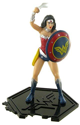 Figuras de la liga de la justicia – Figura wonder woman (mujer maravilla) - 9 cm - DC comics - Justice league - liga de la justicia (Comansi Y99196)