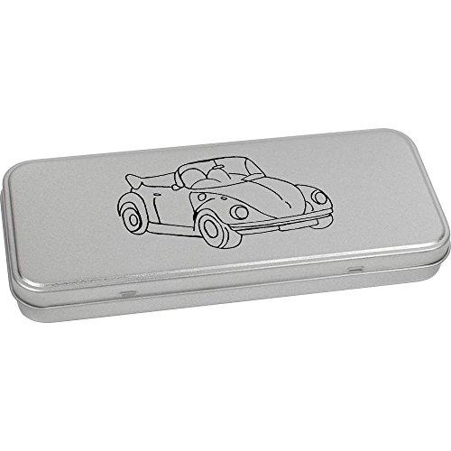 180mm x 75mm 'Voiture Ancienne' boîte de Papeterie métal (TT00083546)
