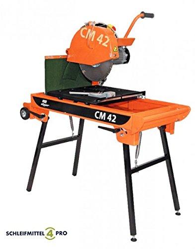 Aktionsangebot: NORTON Clipper CM 42 Compact Steinsäge Tischsäge inkl. Diamantscheibe