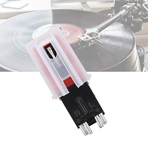Q3 Phonograph Needle Stylus, Dual Needle Stereo Stylus Replacement Phonograph & Platenspeler Draaischijfnaald Elektromagnetische kop, Phonograph Head