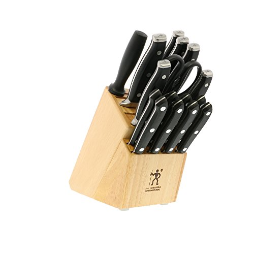 HENCKELS Forged Premio Knife Block...