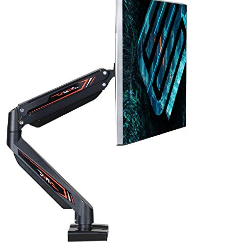 EUREKA ERGONOMIC Premium Single Monitor Stand, Full Motion Monitor Mount Arm, Fits Screen Up to 32 Inches, Gaming Design