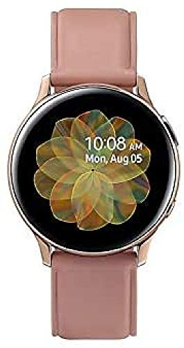 SAMSUNG Galaxy Watch Active 2 SM-R830NSKAPHE - Smartwatch de Acero, 40 mm, color Oro Rosa, Bluetooth [Versión española], 40 mm