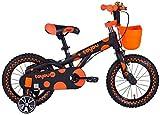 2021 New Triciclo Triciclo para niños Práctica bicicleta para niños, niño de 3-6-10 años 12/14/16 pulgadas Bicicleta para bebé masculina Niño Cómodo triciclo para bebé Cochecito para niños Silla de em