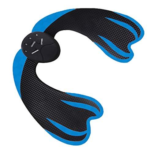 chiwanji Estimulador Inalámbrico de Glúteos Entrenamiento Muscular Abs Estimulante Gimnasio Levantador de Cadera - Azul