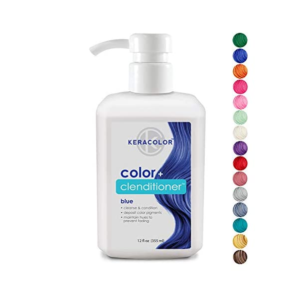 Keracolor Clenditioner Color Depositing Conditioner Colorwash - Instantly Infuse Color into Hair, 15 Colors | Cruelty Free 3