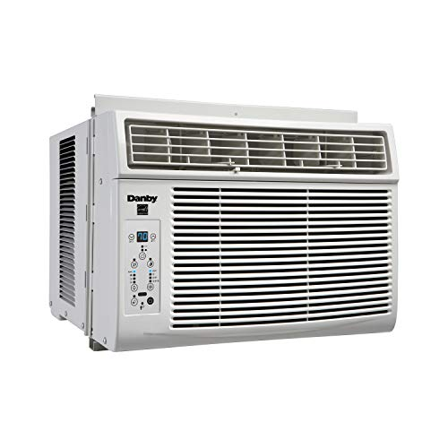Danby DAC060EB1WDB, 6,000, BTU Energy Star Window Air Conditioner, Programmable Timer, LED Display and Remote Control, Ideal for Rooms Up to 250 Square Feet