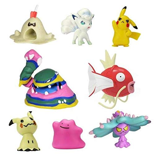 Pokemon Pack de 8 Figuras (BIZAK 63225320)