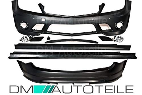 DM Autoteile W204 Stoßstange vorne hinten Bodykit 2007-2011 +Zubehör für C63 AMG