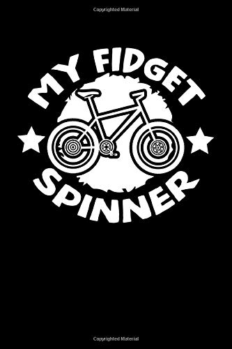 MY FIDGET SPINNER: Bikers Sports Composition Notebook Wide Ruled 120 Pages (6x9) Creative Writing Journal For All Bikers
