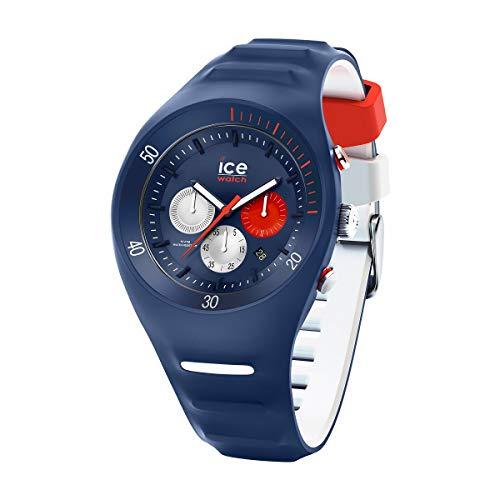 Ice-Watch - P. Leclercq Dark Blue - Montre Bleue pour Homme avec Bracelet en Silicone - Chrono - 014948 (Large)
