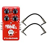 TC Electronic 960661001 Hall of Fame 2 Electric Guitar Reverb Effects Pedal with a Pair of...