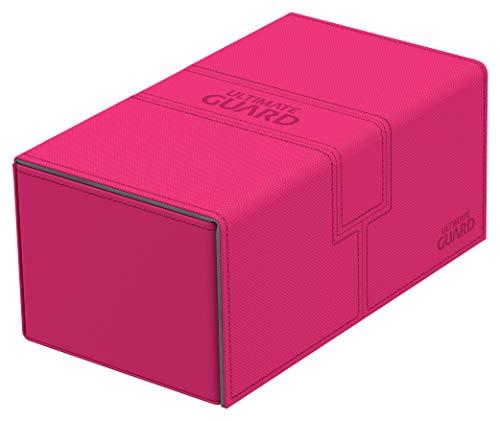 Ultimate Guard- Gioco di Carte Twin Flip'N'Tray Deck Case 200+ Xenoskin, Colore Sabbia Opaca, UGD010849