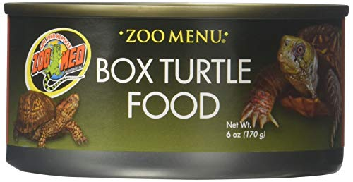 Zoo Med Box Turtle Food 6 Oz (Pack Of 3)