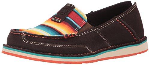 Ariat Women's Cruiser Slip-on Shoe, Chocolate Fudge, 5.5 B US
