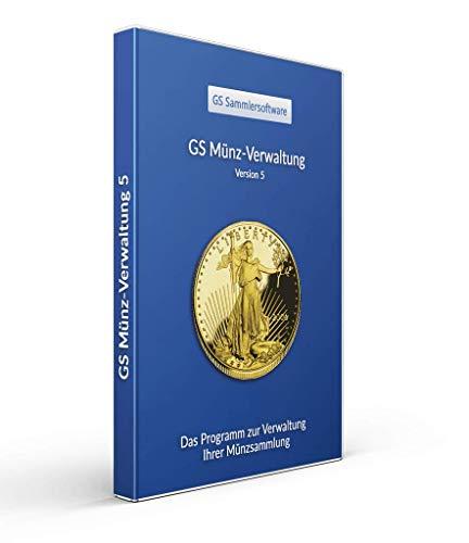 GS Münz-Verwaltung 5 - Software zur Verwaltung von Münzen - Datenbank Programm zur Münzverwaltung