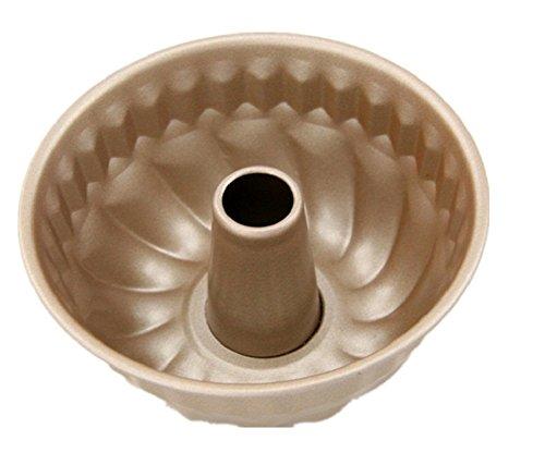 GMM rundformige Spring forme & # x3 a6–10.9 cm * 4,8 cm très bon Anti-Adhérent, Golde acier carbone zwei Stücke