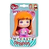 Pinypon - My First, Figura Peluquera, figura de profesión peluquería, juguete para niños y niñas de 1 a 3 años, con 3 caras diferentes y cuerpo intercambiable con otras figuras FAMOSA (700016642)